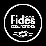 Logo fides assurances (blanc)